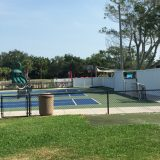 The little ones can get lessons in tennis and golf as well. Notice the miniature courts.