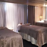 The couple's suite at Club Med Spa by L'Occitane.