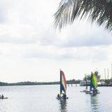 Guests sailing at Club Med Sandpiper Bay.