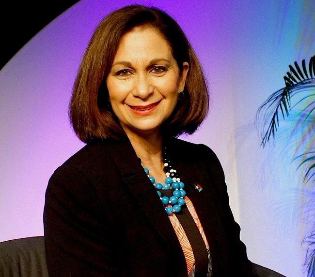 Ingrid I. Rivera Rocafort, executive director of the Puerto Rico Tourism Company.