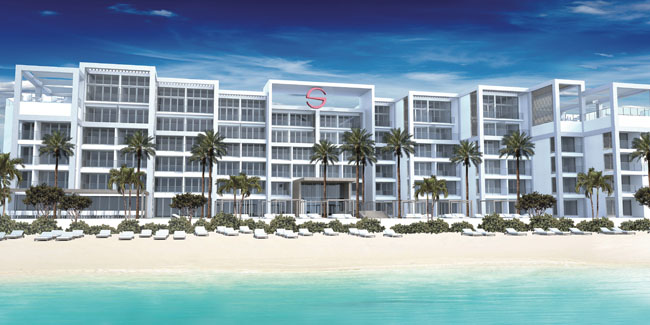 A rendering of theSpanish Court Hotel in Kingston.