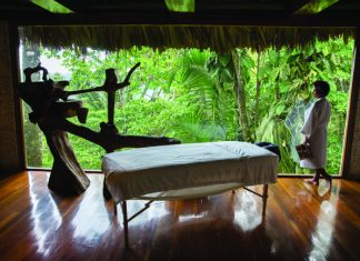 Jungle Spa at Belcampo Belize.