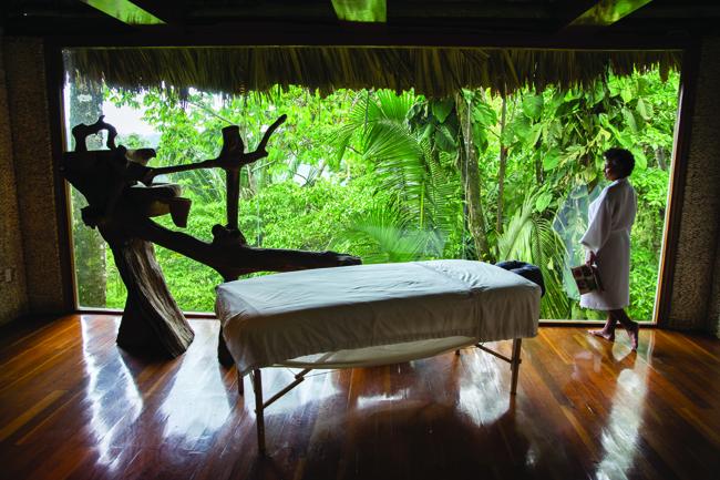 Jungle Spa at Belcampo Belize.