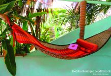 The very hip Playa Escondida property in Sayulita.