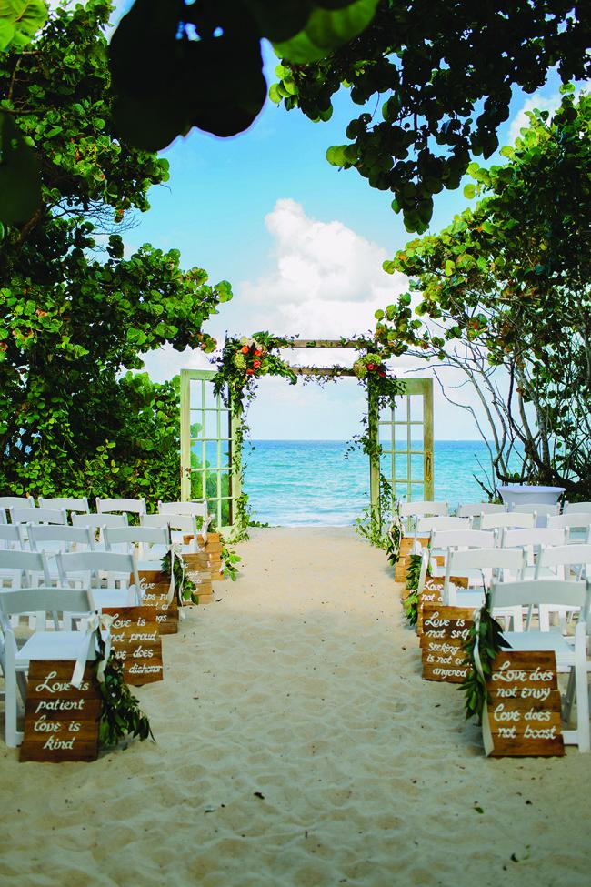 The Sand Dune wedding venue.