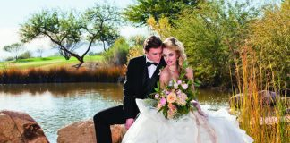 Weddings at Sheraton Grand at Wild Horse Pass in Arizona.