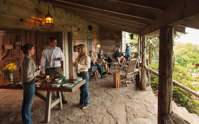 The Swag is offering mountaintop cooking schools in May, July and November in North Carolina'sGreat Smoky Mountains.