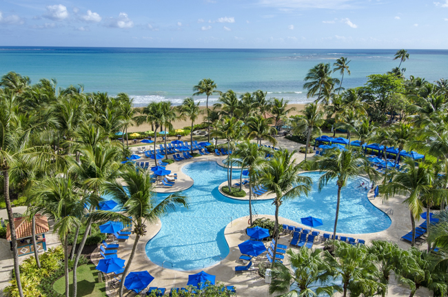 The Wyndham Grand Rio Mar Beach Resort & Spa in Puerto Rico. (Photo credit: Victor Elias Photography)