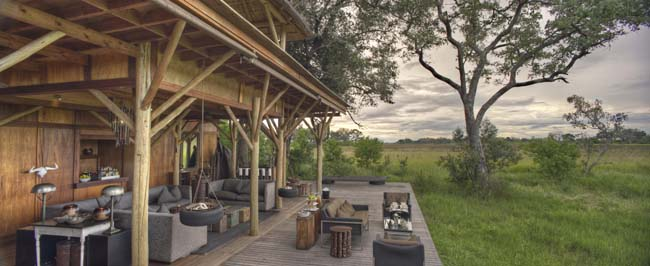 andBeyond Xudum Okavango Delta Lodge in Botswana. (Photo credit: andBeyond)