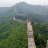 Picture perfect views from The Great Wall of China.