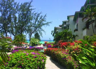 Pathway to the beach at Bougainvillea Beach Resort. (Paloma Villaverde de Rico)