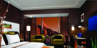 Red Rock Canyon exploration awaits guests staying at Red Rock Casino Resort & Spa in Las Vegas.