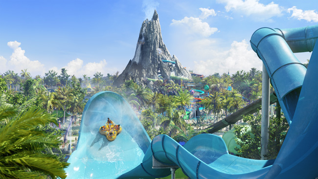 Universal Orlando has released new information about theupcoming Volcano Bay water park.