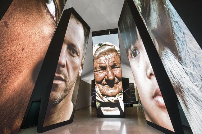 Inside theMuseu do Amanha (Museum of Tomorrow) in Brazil. (Photo credit:Cesar Barreto)