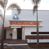 The Spacewalker is one of several onsite restaurants. Ideal for families with small children.