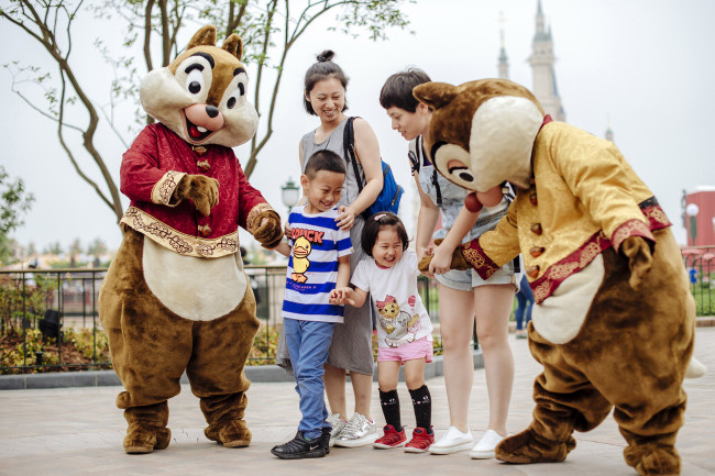 The Shanghai Disney Resort opened on June 14 as the first Disney resort in Mainland China.