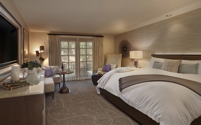 A casita-style room at theMiraval Arizona Resort & Spa.
