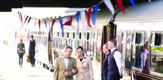 Belmond's high-end rail journeys take travelers through the heart of Europe. (Belmond)