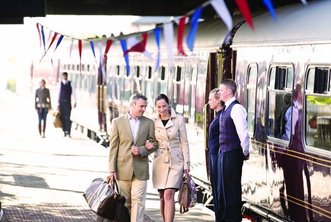 Belmond's high-end rail journeys take travelers through the heart of Europe. (Belmond)