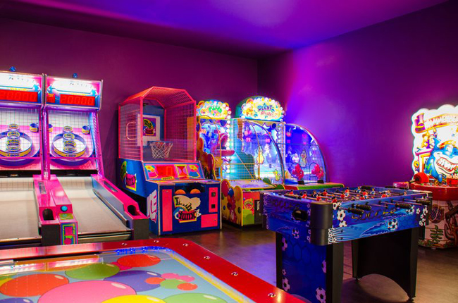 The Playroom atMoon Palace Golf & Spa Resort in Cancun, Mexico.