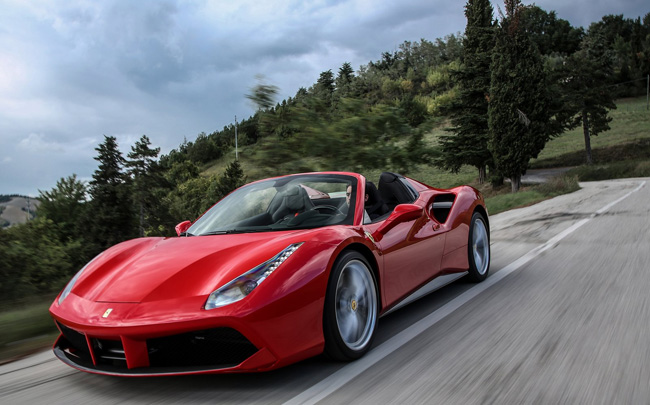 Salviatino Collection's Italy Full Throttle package puts guests behind the wheel of Ferarri.