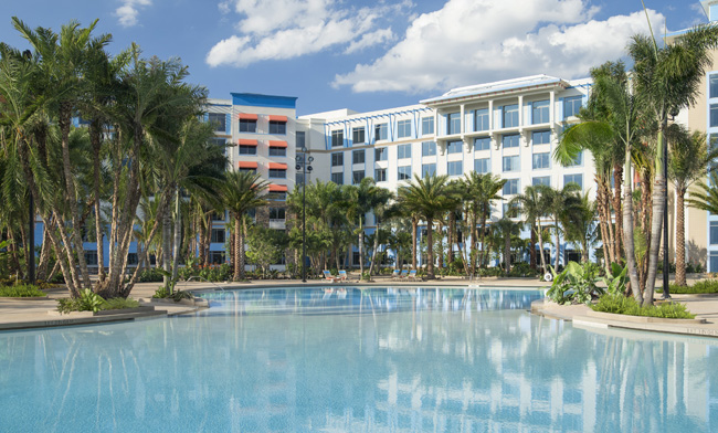 The 1,000-guestroom Loews Sapphire Falls Resort at Universal Orlando officially opened last week.