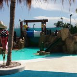 The paddling pool with integrated playground at Finest Playa Mujeres' Kids Club.