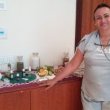 Rosa let us in the healing properties of pure essential oils during an aromatherapy workshop at the Finest Playa Mujeres' One Spa.