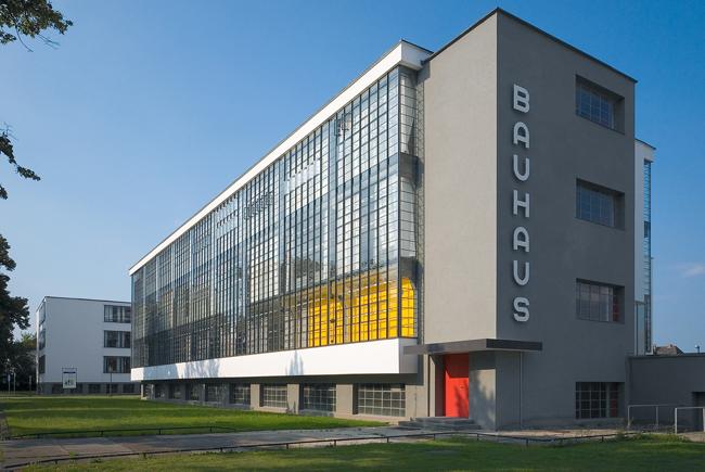 Bauhaus University in Dessau. (Photo credit: Jochen Keute)