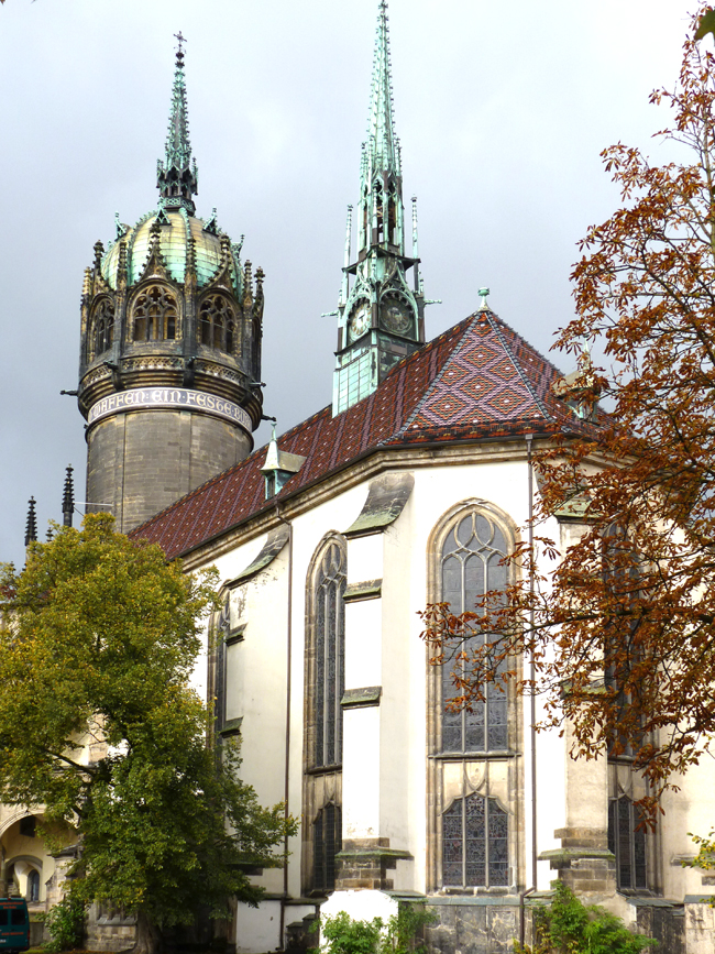 All Saints' Church, Wittenberg, Germany. (Photo credit: German National Tourist Board)