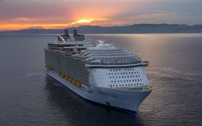 Harmony of the Seas is sailing the Western Mediterranean this number on several 7-night itineraries.