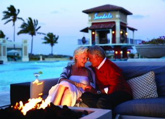 Sandals Emerald Bay offers a romantic setting.