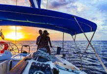 St. Lucia sailing.