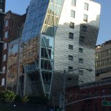 Eclectic architecture in NYC's Chelsea neighborhood.