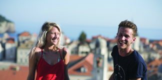 Contiki caters to 18- to 35-year olds and visits European cities such as Dubrovnik.