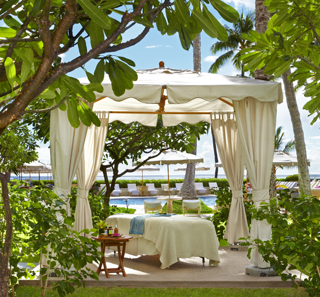 To indulge like a local in Hawaii, try one of SpaHalekulani's Polynesian therapies at the Halekulani hotel in Waikiki.