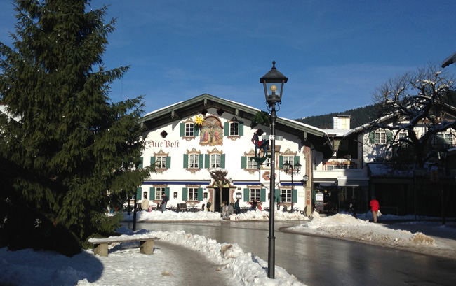 In thePassion Play Village of Oberammergau, guests can stay at the family-runHotel Alte Post. (Photo credit: Hotel Alte Post)