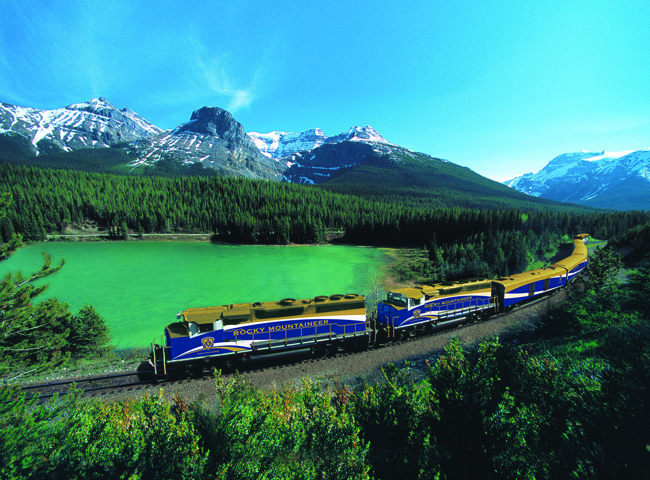 Rocky Mountaineer has a 10-day journey in Canada that includes five days on the rails.