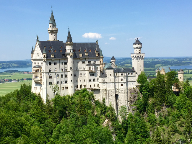 "While driving along the German Alpine Road, travelers can stop in the small town of Fussen, known as the ""Gateway to Neuschwanstein."" (Photo credit: Top Bavaria Travel)"