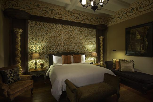 Presidential suite at Palacio del Inka.