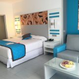 Guestrooms at RIU Republica.