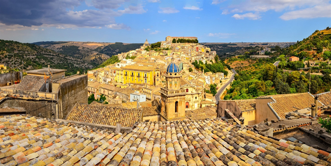 Travelers can take in views of Sicily while traveling with BellaVista Tours. (Photo credit BellaVista Tours)