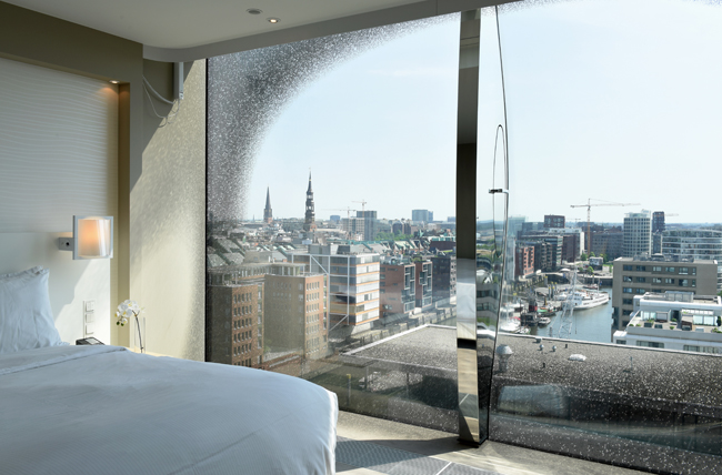The Deluxe City Panorama Room at the upcoming Westin Hamburg.