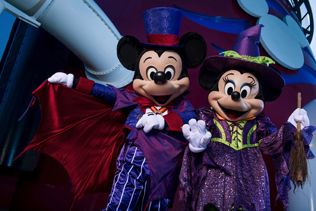 Disney Cruise Lines' fall and winter holiday cruises includes the activity-filled Halloween on the High Seas available from September to October.