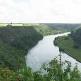 Views of the Rio de Chavon (the Chavon River) from Altos de Chavon.