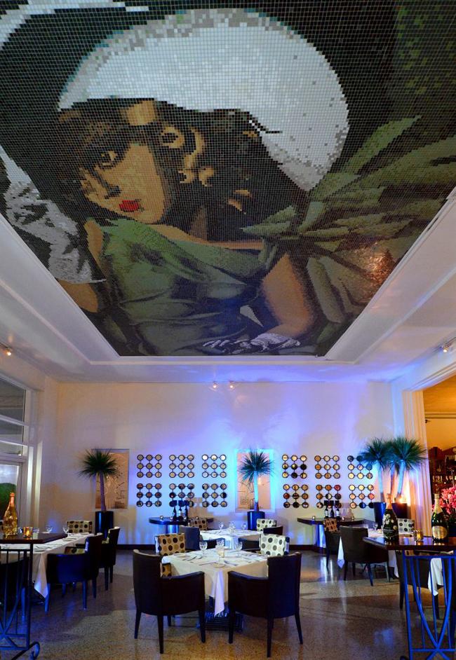 Tamara's Bistro restaurant at thethe National Hotel in Miami Beach.