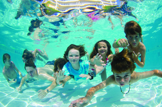 Underwater fun at Caribbean Club on Grand Cayman Island.