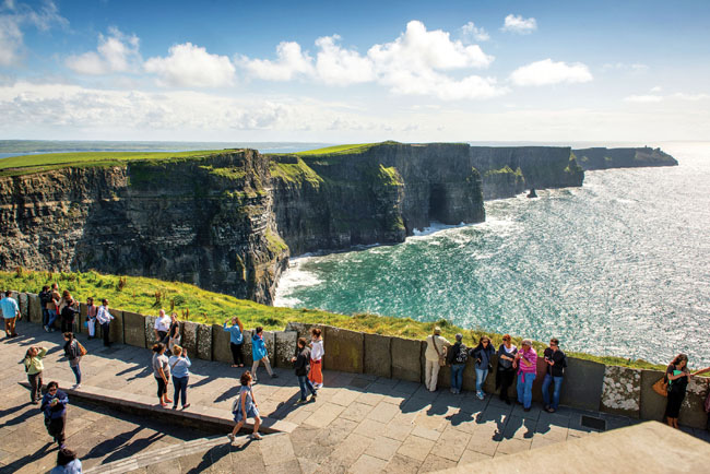 TheCliffs of Moher in County Clare, Ireland.