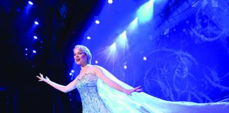 "Disney Cruise Line is debuting ""Frozen, A Musical Spectacular"" on board the Disney Wonder in November (David Roark)."