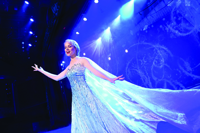 "Disney Cruise Line is debuting ""Frozen, A Musical Spectacular"" on board the Disney Wonder in November (David Roark)."